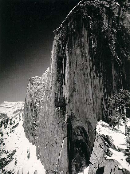 亚瑟-亚当斯照的黑白风景照比较清晰.