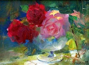 artist: Huihan Liu (courtesy of The Trailside Gallery, Scottsdale, AZ)