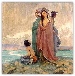 artist: Eanger Irving Couse (1866-1936)