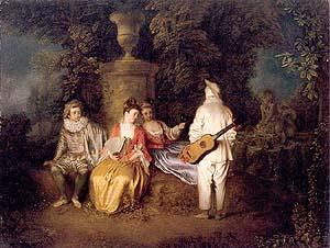 artist: Antoine Watteau (1684-1721)