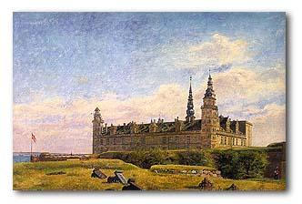 Constantin Hansen (1804-1880) - Kronborg Castle, 1834