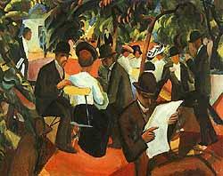 artist: August  Macke (1887-1914)