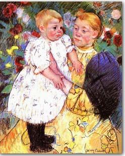 artist: Mary Cassatt (1844-1926)