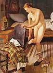 Bäuerliche Venus 1939, Modell Annerl Meierhanser