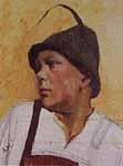 Michael Gegenfurtner als Lehrbub, 1930, Privatbesitz