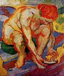 Franz Marc (1880-1916) Aktonit Katze