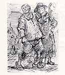 """Leo von Welden (1899-1967) """"Spaziergang"""""""