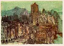 Leo von Welden (1899-1967), Wasserburg am Inn, ca. 1963