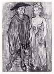 "Leo von Welden (1899-1967) ""Paar"""