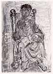 """Leo von Welden (1899-1967) """"Der Evangelist"""""""