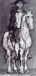 """Leo von Welden (1899-1967) """"Reiter"""", ca. 1960"""
