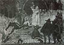 """Leo von Welden (1899-1967) """"Inquisition"""""""