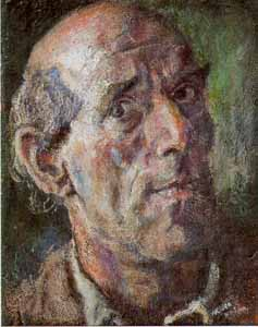 Leo von Welden, self-portrait