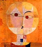 "Paul Klee (1879-1940) ""Head Of A Man"""