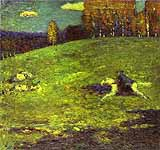 "Wassily Kandinsky (1866-1944), The Blue Rider"", 1903"