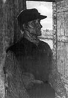 """Fritz Mackensen (1866-1953) """"Jan van Moor"""", 1897"""