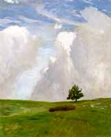 "Otto Modersohn (1865-1943)  ""Wolkenberge"", 1890"