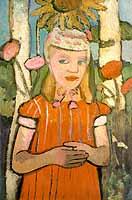 "Paula Modersohn-Becker (1876-1907) ""Worpsweder Kind"", 1907"