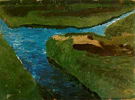 """Paula Modersohn-Becker (1876-1907) """"Moorgraben"""", 1900"""