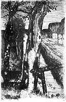 "Fritz Overbeck (1869-1909) ""Birkenstamm"", 1894"