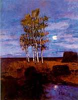 """Carl Vinnen (1863-1922) """"Mondnacht"""", 1900"""