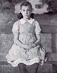 """Brynolf Wennerberg """"Kinderportrait Maria Schellhorn"""" abt 1938"""