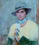 """Brynolf Wennerberg Portrait Clothilde Eggerer"""" abt 1939"""