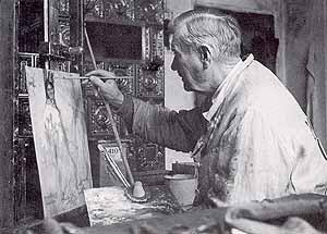 artist Brynolf Wennerberg