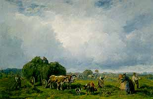 "Desire Thomassin (1858-1933) ""Heuernte"""