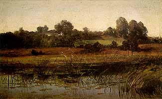 "Dietrich Langko (1819-1896) ""Amperlandschaft"""