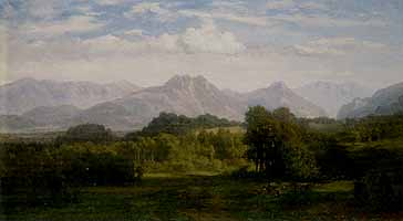 "Eduard Gleim (1812-1899) ""Das Inntal bei Rosenheim"", 1877"