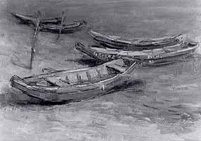 "Hermann Eller (1925-) ""Boote"""