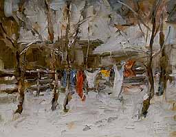 """Hermann Eller (1925-) """"Waesche"""""""