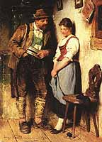 "Hugo Kauffmann (1844-1915) ""The Sweetheart"",, courtesy of ARC"