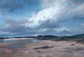 """Josef Wenglein (1845-1919) """"An der Isar"""", 1901"""