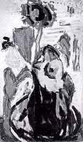 "Kasrl Meisenbach (1898-1976) ""Sonnenblumen"""