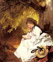 """Karl Raupp (1837-1918) """"An Elegant Lady"""", courtesy of ARC"""