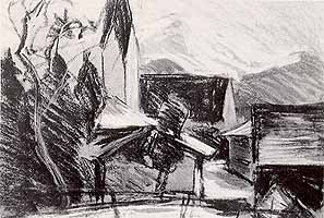 "Lucidus Diefenbach (1886-1958) ""Toerwang am Samerberg"""