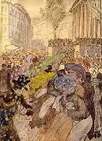 "Walter Georgi (1870-1924) ""Faschingsball in Muenchen"""