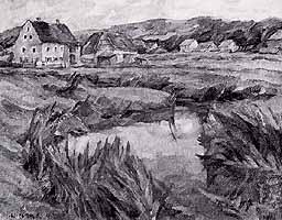"""Walter Puettner (1872-1953) """"Sommermorgen"""""""