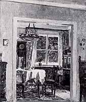 "Walter Puettner (1872-1953) ""Interieur"""