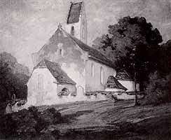 "Wenzel Wirkner (1864-1947) ""Rossholzen am Samerberg"""