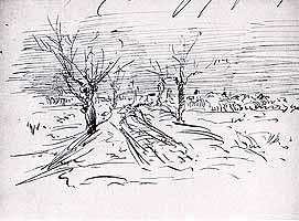 "Wilhelm Leibl (1844-1900) ""Weg nach Mietraching"""