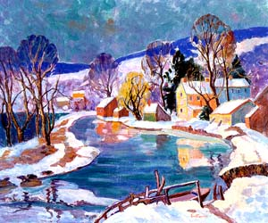 Fern I. Coppedge (1883-1951) - courtesy of Plymouth Meeting Gallery, Plymouth Meeting, PA