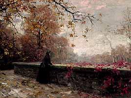 "Alexander Koester (1864-1932) ""Sehnsucht"", ca 1892"