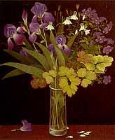 """Heidi Muggli """"Junistrauss"""", Oil, 1987/88"""