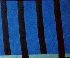 """Heidi Muggli """"Allee"""" Oil/Collage, 2003"""