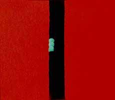 "Heidi Muggli ""Rote Landschaft"", Oil, 2003"