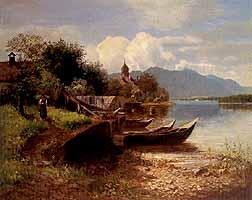 "Horst Hacker (1842-1906) ""Inselidyll"""