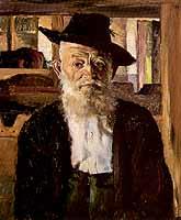 """Thomas Baumgartner (1892-1962) """"Der alte Garber"""""""